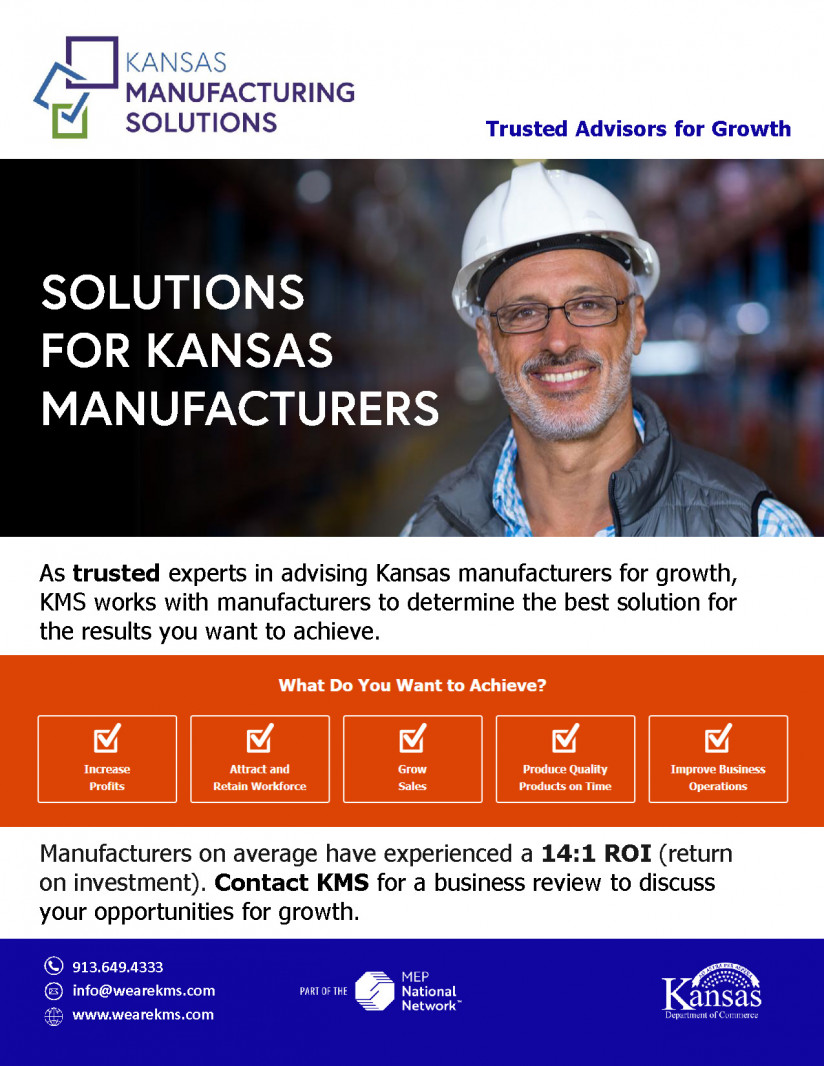 KMS consults with Kansas manufacturers