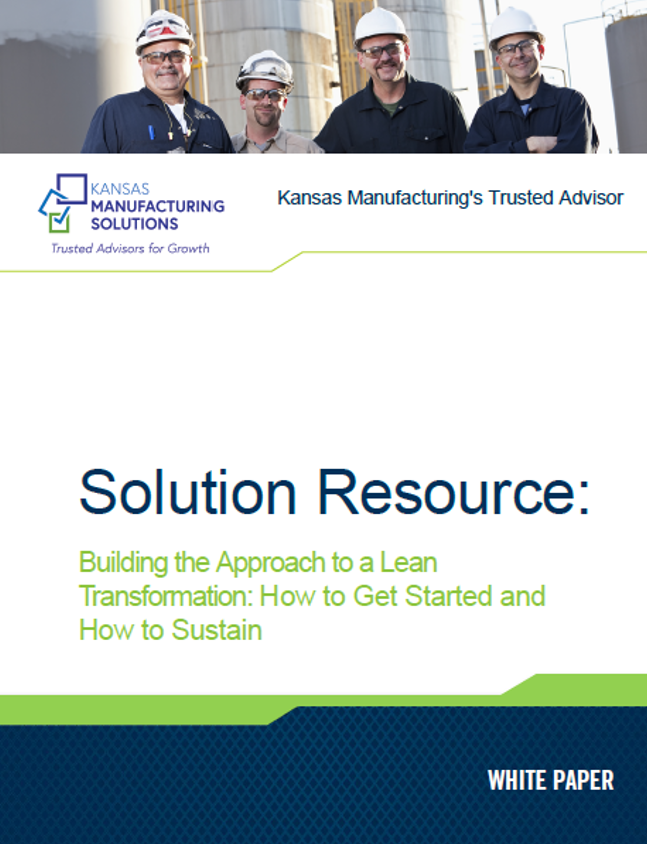 Kansas Manufacturing Solutions Lean Whitepaper