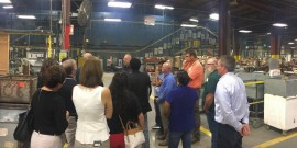 KCMN Tour of Local Manufacturing Floor