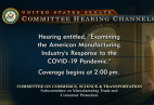 KMS CEO Testifies at US Senate Hearing on Manufacturing